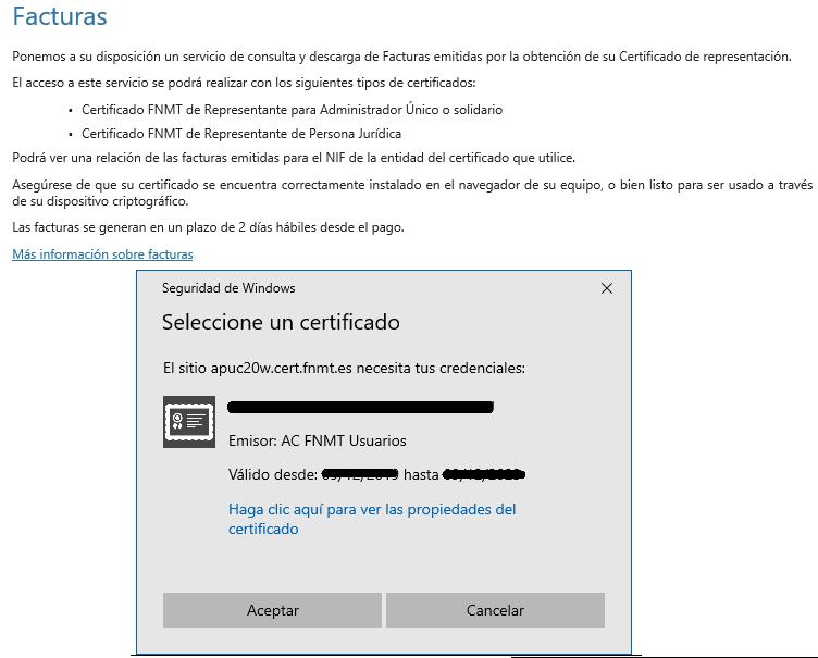 FNMT ceres. Como descargar la factura de la fnmt ceres del certificado digital Persona Jurídica.