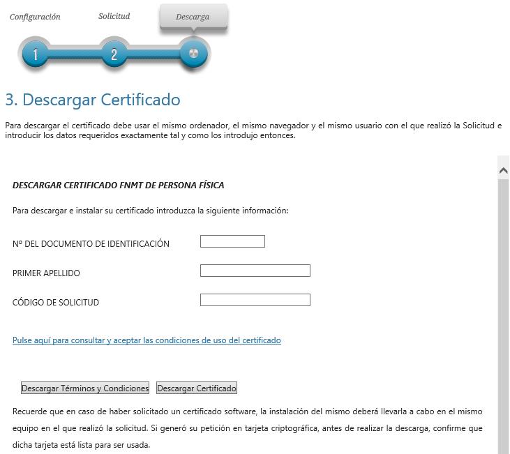 FNMT ceres. Cómo Descargar Certificado Digital fnmt renovado de Persona Física.