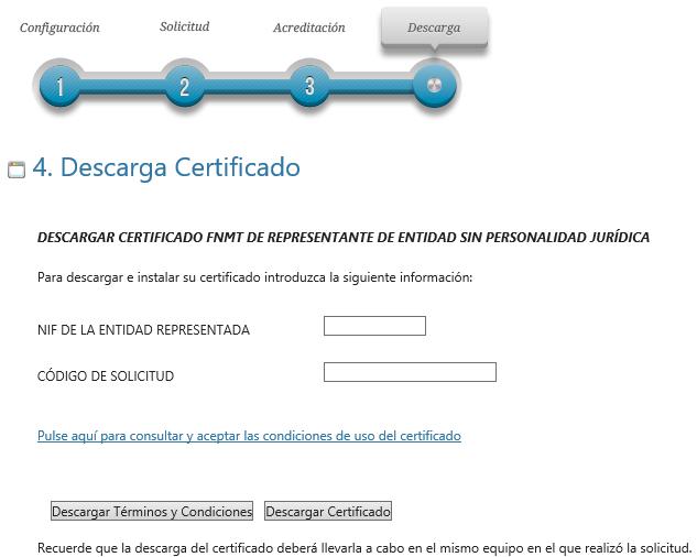 FNMT ceres. Descargar el Certificado Digital fnmt de Entidad sin Personalidad Jurídica.