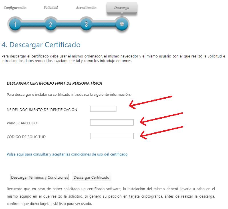 FNMT ceres. Cómo Descargar Certificado Digital fnmt de Persona Física mediante archivo descargable.