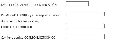 FNMT ceres. Rellenar los datos en la solicitud de Certificado Digital fnmt de Persona Física mediante archivo descargable.