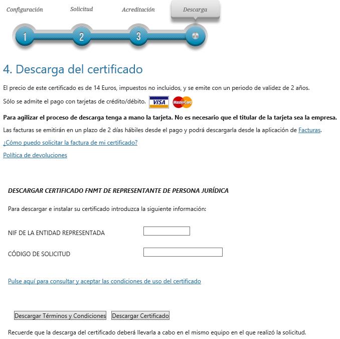 FNMT ceres. Descargar el Certificado Digital fnmt de Persona Jurídica.