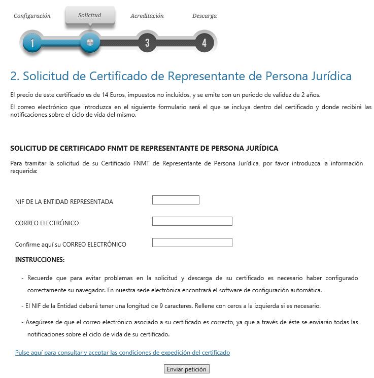 FNMT ceres. Cómo solicitar Certificado Digital fnmt de Persona Jurídica.