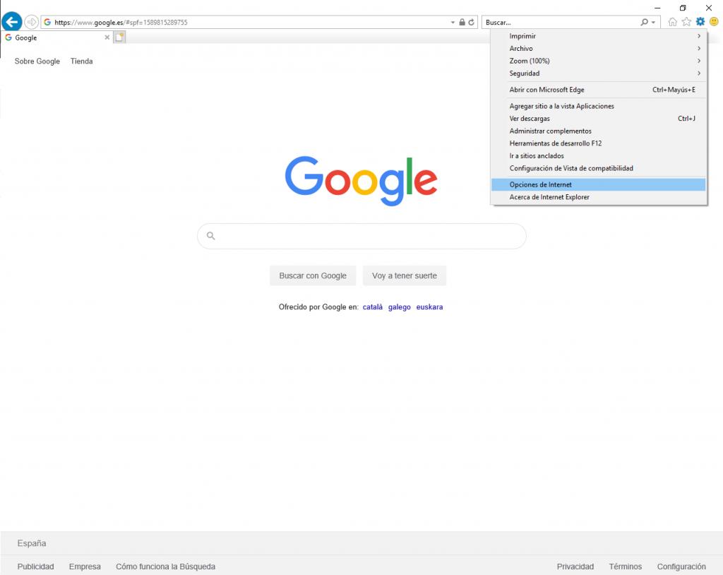Cómo exportar Certificado Digital en Internet Explorer.